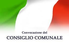 AVVISO DI CONVOCAZIONE CONSIGLIO COMUNALE