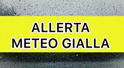 ALLERTA METEO AVVISO REGIONALE N.35/2020