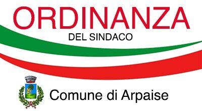 ORDINANZA DEL SINDACO N. 15 DEL 3 OTTOBRE 2020