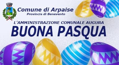 AUGURI DI BUONA PASQUA  DALL'AMMINISTRAZIONE COMUNALE
